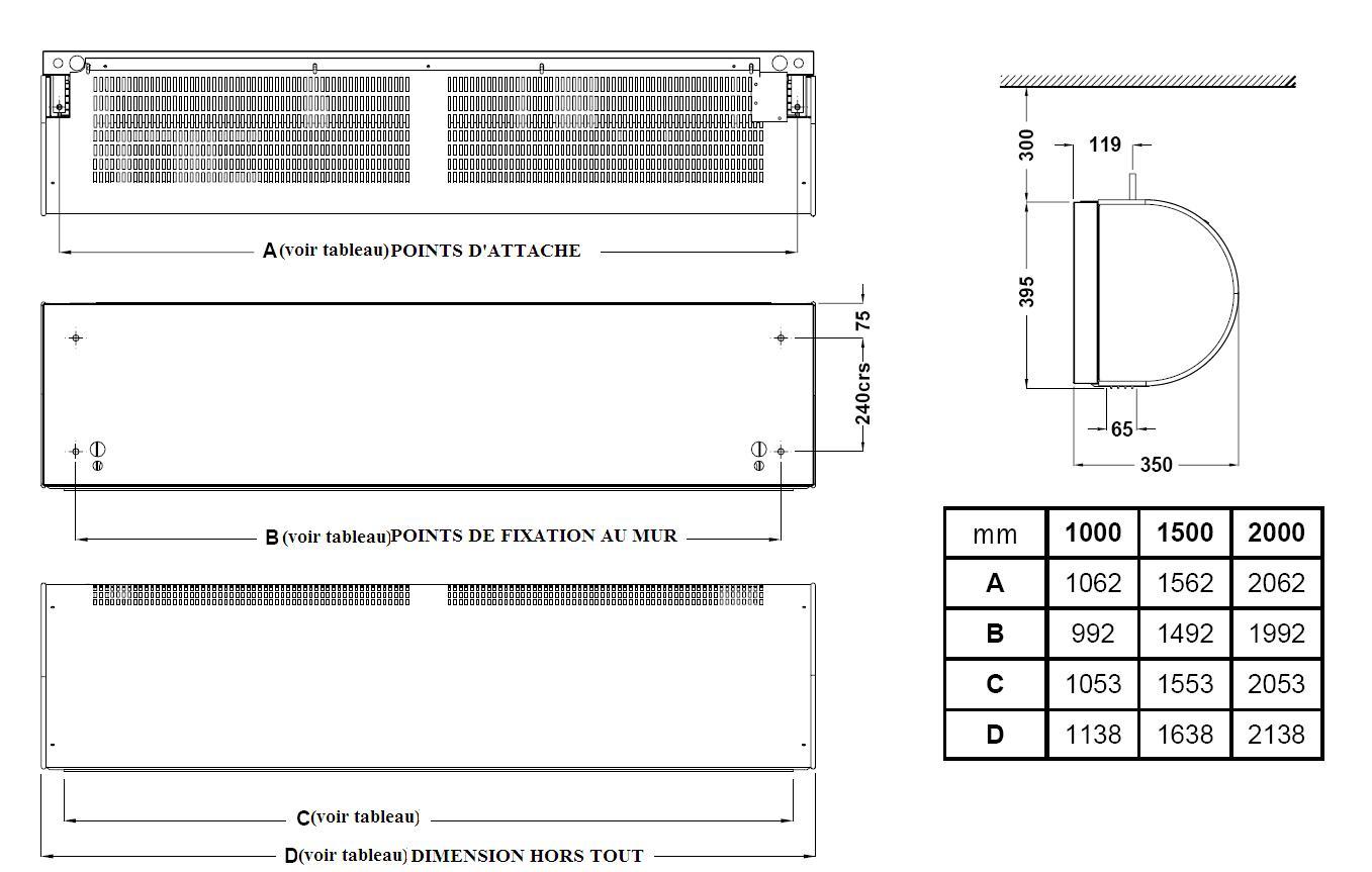 dimension rideau. Black Bedroom Furniture Sets. Home Design Ideas